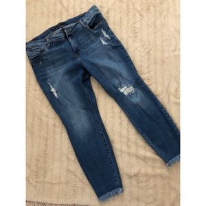 Women's STS Distressed Jeans - 34=18 (16W)